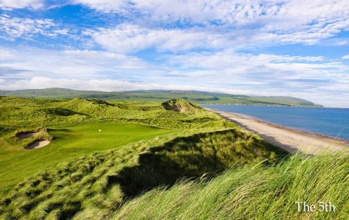 The 5th at Machrihanish