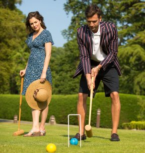 LuxeGetaways | Courtesy Ellenborough Park - Croquet