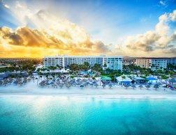 LuxeGetaways | Courtesy Aruba Marriott Resort & Stellaris Casino - Beach