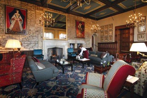 LuxeGetaways | Courtesy Ellenborough Park - Great Hall