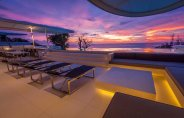 LuxeGetaways - Luxury Travel - Luxury Travel Magazine - Luxe Getaways - Luxury Lifestyle - Luxury Villa Rentals - Affluent Travel - Kata Rocks Phuket Thailand - beautiful sky and pool