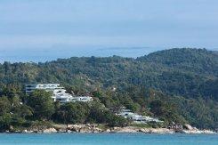 LuxeGetaways - Luxury Travel - Luxury Travel Magazine - Luxe Getaways - Luxury Lifestyle - Luxury Villa Rentals - Affluent Travel - Kata Rocks Phuket Thailand - view of villas and resort - superyacht marina