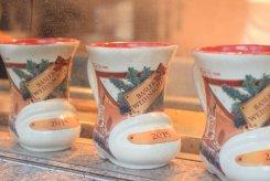 Glühwein served in commeroative mugs in Basal, Switzerland