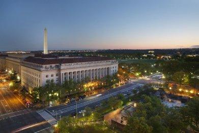 Views from JW Marriott DC