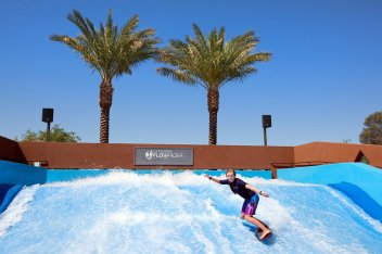 the-westin-kierland-flowrider-female-rider-courtesy-the-westin-kierland-resort-spa