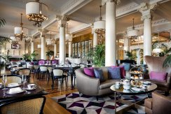 LuxeGetaways - Luxury Travel - Luxury Travel Magazine - New Era at Fairmont Empress - Victoria Canada - Fairmont Hotels and Resorts - Damon M Banks - Lobby Lounge - Afternoon Tea
