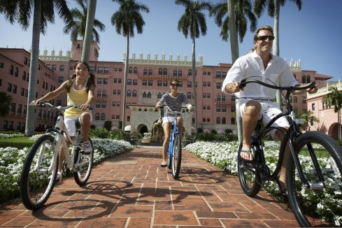 LuxeGetaways - Luxury Travel - Luxury Travel Magazine - The Boca Raton Resort by Waldorf Astoria - activities - bike