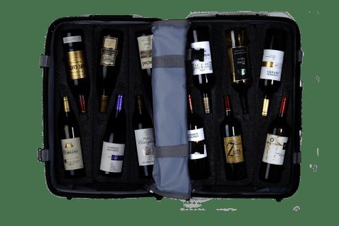 LuxeGetaways - Luxury Travel - Luxury Travel Magazine - wine travel bags - VinGardeValise