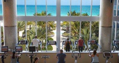 LuxeGetaways - Luxury Travel - Luxury Travel Magazine - Eric Hrubant of CIRE Travel Explores Wellness Travel Options | LuxeGetaways - gym
