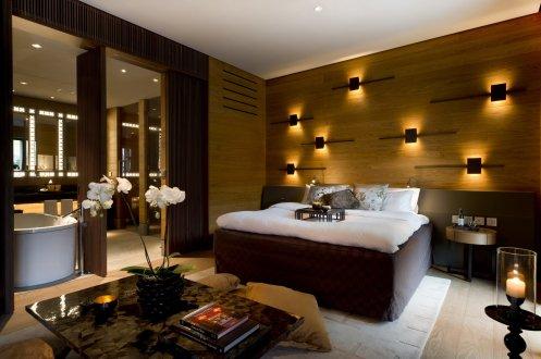 LuxeGetaways_Chedi-Andermatt_Switzerland_Slimming-Wellness-Retreat_Deluxe-Room_Bed