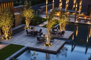 LuxeGetaways_Chedi-Andermatt_Switzerland_Slimming-Wellness-Retreat_Courtyard-Dining-night