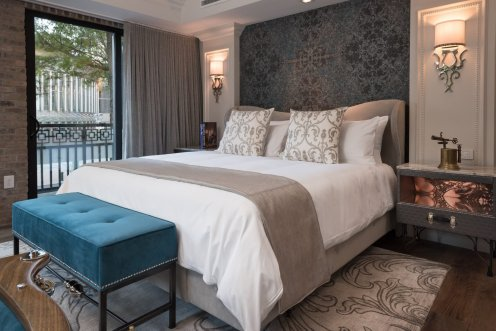 LuxeGetaways - Luxury Travel - Luxury Travel Magazine - Luxe Getaways - Luxury Lifestyle - The Ivey's Hotel Charlotte - North Carolina - Iveys Hotel - Balcony Suite - Boutique Luxury