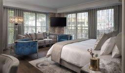 LuxeGetaways - Luxury Travel - Luxury Travel Magazine - Luxe Getaways - Luxury Lifestyle - The Ivey's Hotel Charlotte - North Carolina - Iveys Hotel - Balcony Suite - Luxury Boutique
