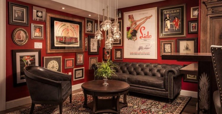 LuxeGetaways - Luxury Travel - Luxury Travel Magazine - Luxe Getaways - Luxury Lifestyle - The Iveys Hotel Charlotte - Charlotte Boutique Hotel - Library Lounge