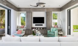 LuxeGetaways - Luxury Travel - Luxury Travel Magazine - Luxe Getaways - Luxury Lifestyle - Luxury Villa Rentals - Affluent Travel - The Dunes by Grace Bay Club - Turks and Caicos - Living Room
