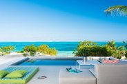 LuxeGetaways - Luxury Travel - Luxury Travel Magazine - Luxe Getaways - Luxury Lifestyle - Luxury Villa Rentals - Affluent Travel - The Dunes by Grace Bay Club - Turks and Caicos - Pool on ocean