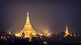 LuxeGetaways - Luxury Travel - Luxury Travel Magazine - Luxe Getaways - Luxury Lifestyle - Exotic Voyages - Luxury Travel Trips - Myanmar at night