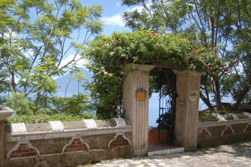 LuxeGetaways - Luxury Travel - Luxury Travel Magazine - Luxe Getaways - Luxury Lifestyle - Luxury Villa Rentals - Affluent Travel - Casa Palopo - Carretera a San Antonio Palopó, Guatemala - Entrance - Vines on Gate