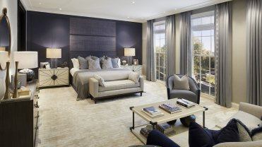 LuxeGetaways - Luxury Travel - Luxury Travel Magazine - Luxe Getaways - Luxury Lifestyle - Travel News: Four Seasons Private Residences Arrives in London - Four Seasons Hotels and Resorts - Luxury Residential Living - Bedroom