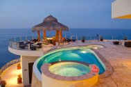 LuxeGetaways - Luxury Travel - Luxury Travel Magazine - Luxe Getaways - Luxury Lifestyle - Luxury Villa Rentals - Villas with Forever Views - Luxe Villas - Luxury Rentals - Mexico - Villa Penasco - Pedregal - Cabo San Lucas - Pool and hot tub