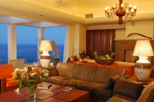 LuxeGetaways - Luxury Travel - Luxury Travel Magazine - Luxe Getaways - Luxury Lifestyle - Luxury Villa Rentals - Villas with Forever Views - Luxe Villas - Luxury Rentals - Mexico - Villa Penasco - Pedregal - Cabo San Lucas - Living Room