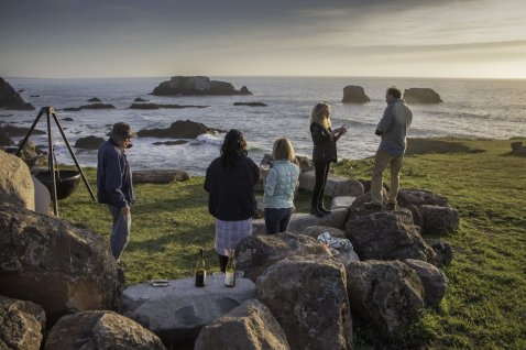 California | Inn at Newport Ranch, Fort Bragg - Wine Tasting - Council Bluff