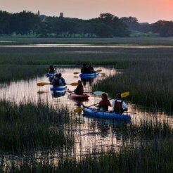 LuxeGetaways - Luxury Travel - Luxury Travel Magazine - Luxe Getaways - Luxury Lifestyle - Timbers Resorts - Timbers Kiawah - Timbers Kiawah Ocean Club and Residences - Charleston - Kayak in Kiawah River