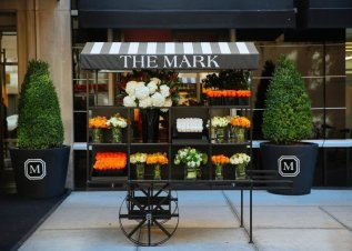 LuxeGetaways - Luxury Travel - Luxury Travel Magazine - Luxe Getaways - Luxury Lifestyle - The Mark Hotel New York City - Five Bedroom Terrace Suite - Madison Avenue - Luxury Hotel - NYC - Flower Market