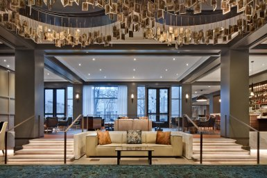 LuxeGetaways - Luxury Travel - Luxury Travel Magazine - Luxe Getaways - Luxury Lifestyle - Hilton - Curio Collection - Curio DNA Gene Quiz - Curio by Hilton - The Logan - Lobby