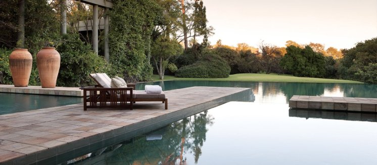 LuxeGetaways - Luxury Travel - Luxury Travel Magazine - Luxe Getaways - Luxury Lifestyle - Saxon Hotel Villas and Spa - Johannesburg South Africa - pool