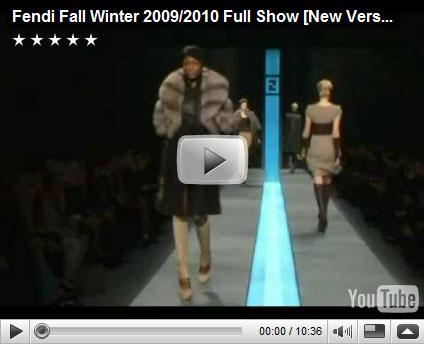 Fendi Fall Winter 2009 Fashion Show