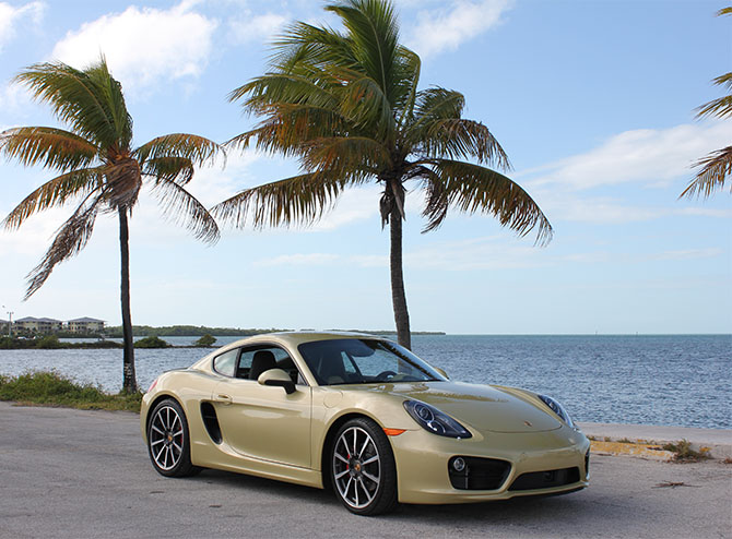 Porsche Cayman S in Miami
