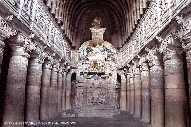 Cave Temples at Ajanta & Ellora