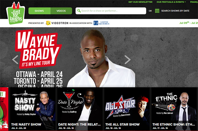 Just For Laughs Festival Montreal