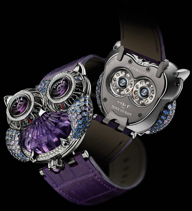 Jewellery Machine in Purple - Maximilian Büsser
