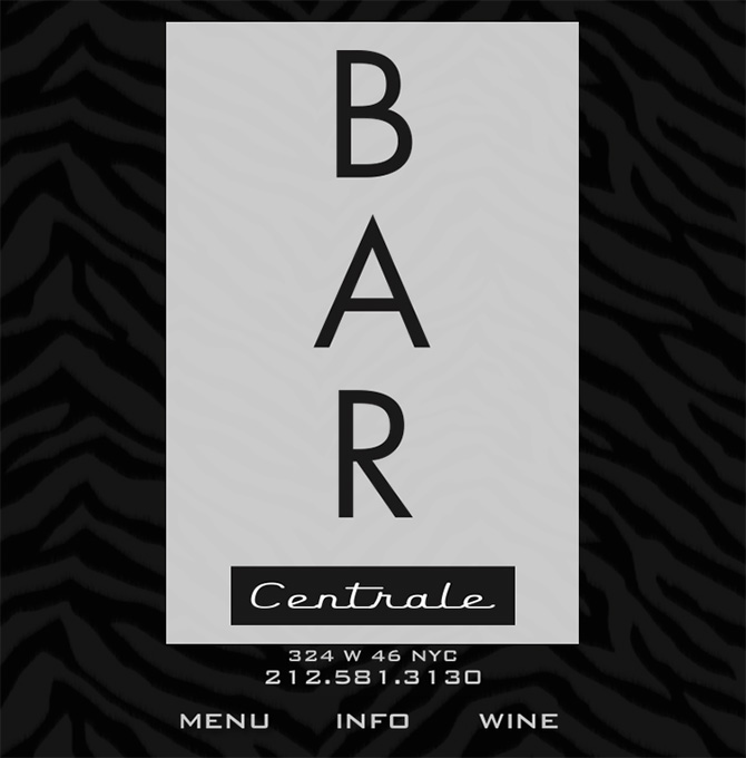 Bar Centrale: Best Speakeasies ion NYC