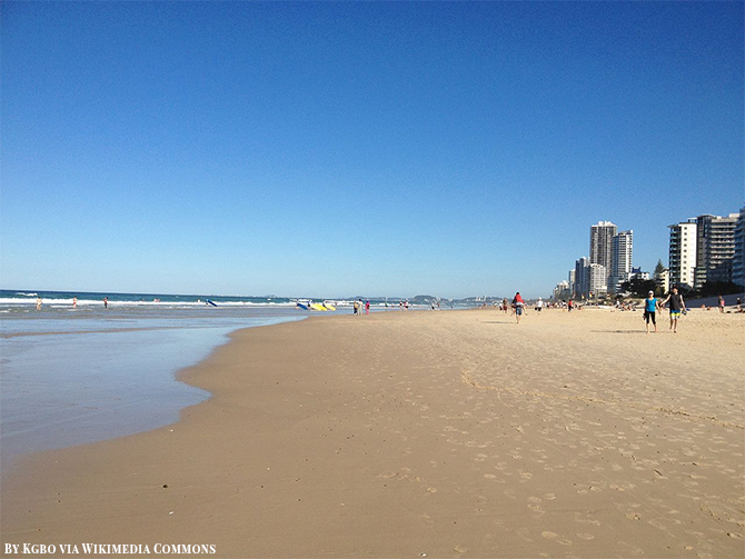 Stunning Beach Destination in Australia - Surfers Paradise Beach