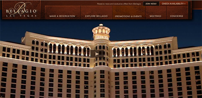 Bellagio - Top Casinos in Las Vegas