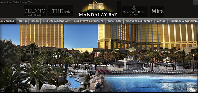 Mandalay Bay - Top Casinos in Las Vegas
