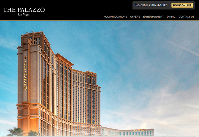 The Palazzo - Top Casinos in Las Vegas