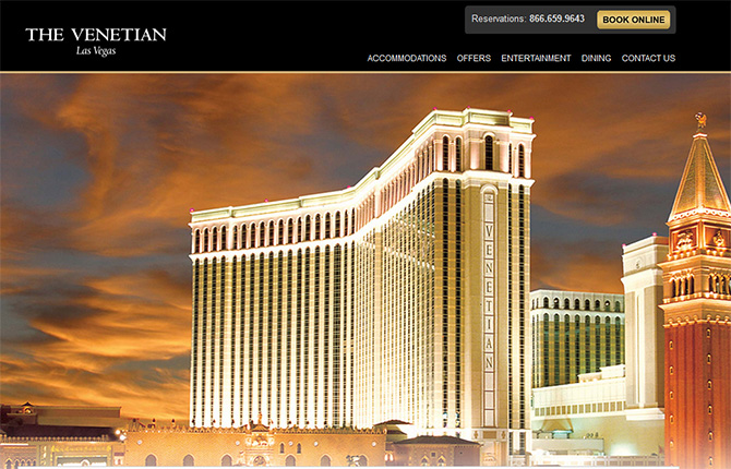 The Venetian - Top Casinos in Las Vegas