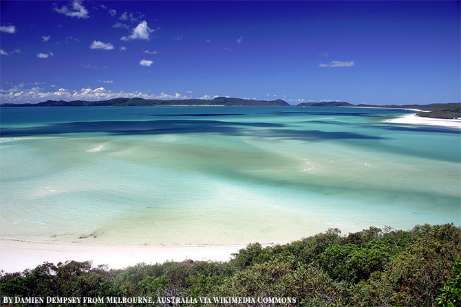 Stunning Beach Destination in Australia - Whitehaven Beach