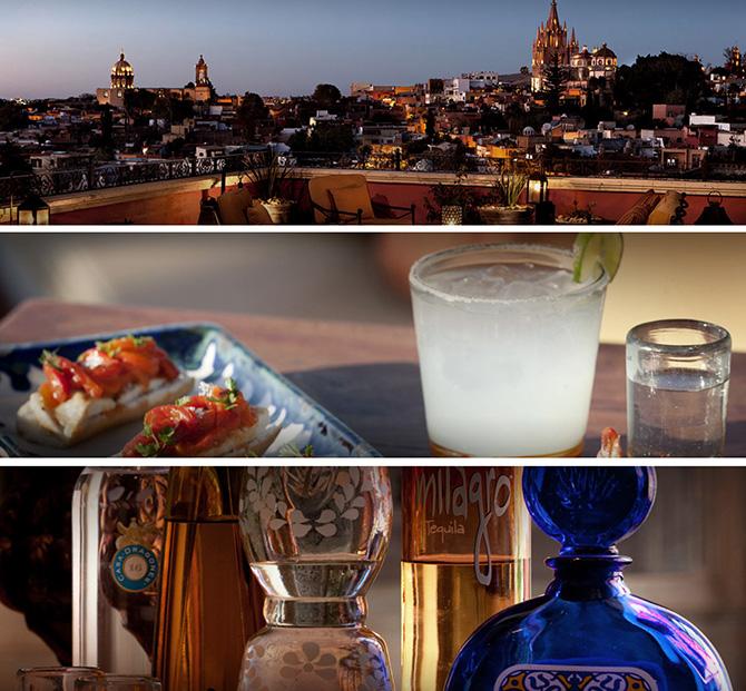 Rosewood Hotel Luna Bar in San Miguel de Allende