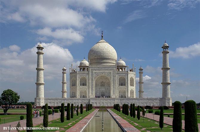 Taj Majal in India