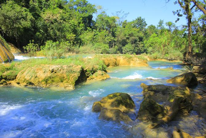 Agua Azula Waterfalls A Splendid Natural Beauty near Chiapas 2
