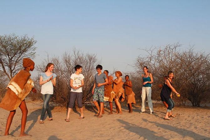 De Graaff Grassland Bushman Lodge A Lavish Retreat in Central Kalahari 4