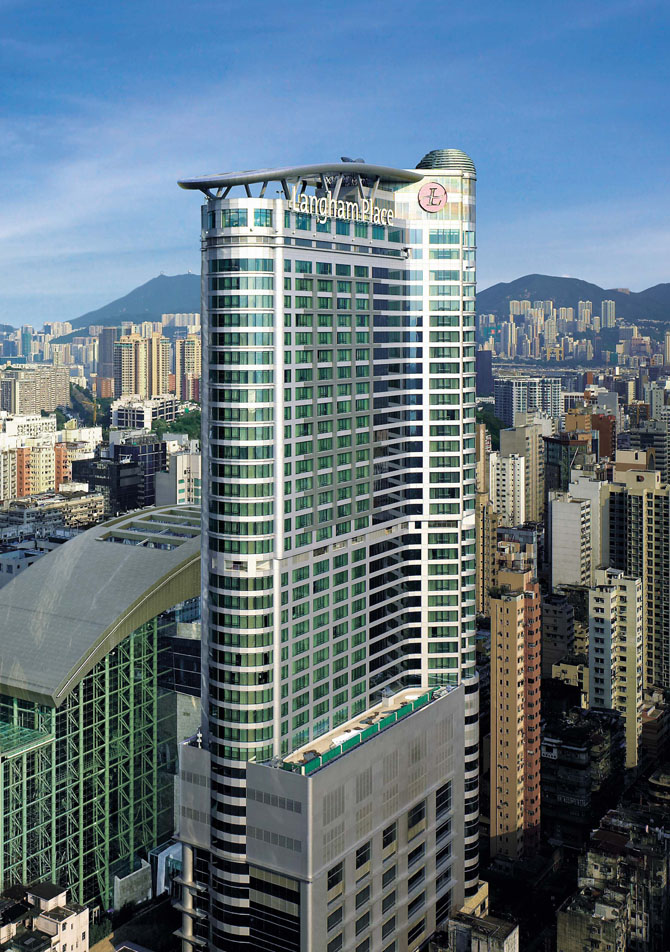 Five Luxury Hotels in Hong Kong Langham Place 1