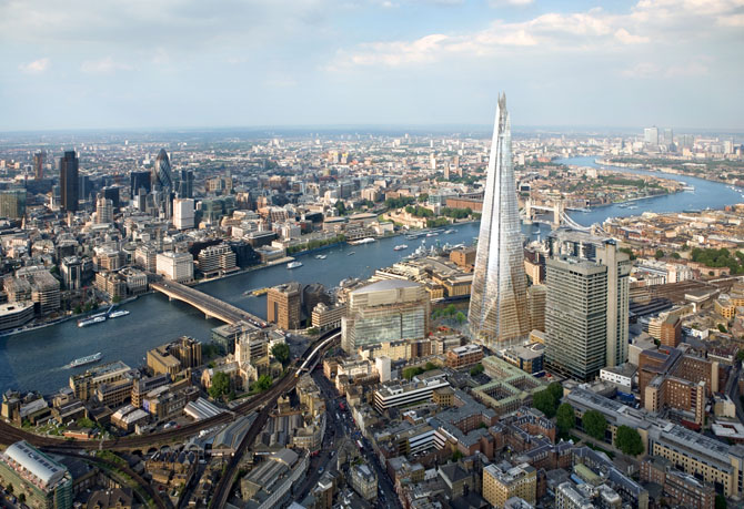 London Top Travel Experience the View from the Shard 1