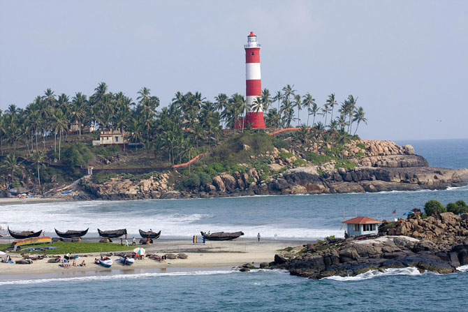 Top 10 Beach Destinations in India Kovalam Kerala