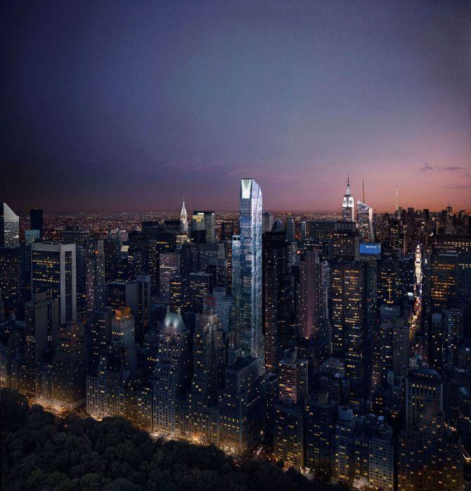 Top 10 Billionaire Skyscraper Homes One57
